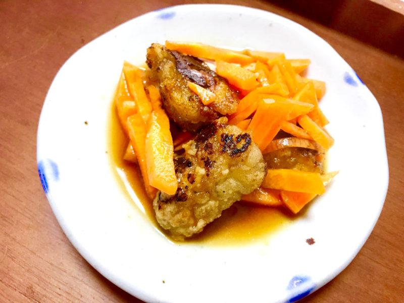 牡蠣と人参の中華南蛮漬け