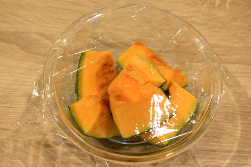 ブロッコリーとかぼちゃのヨーグルトサラダ②
