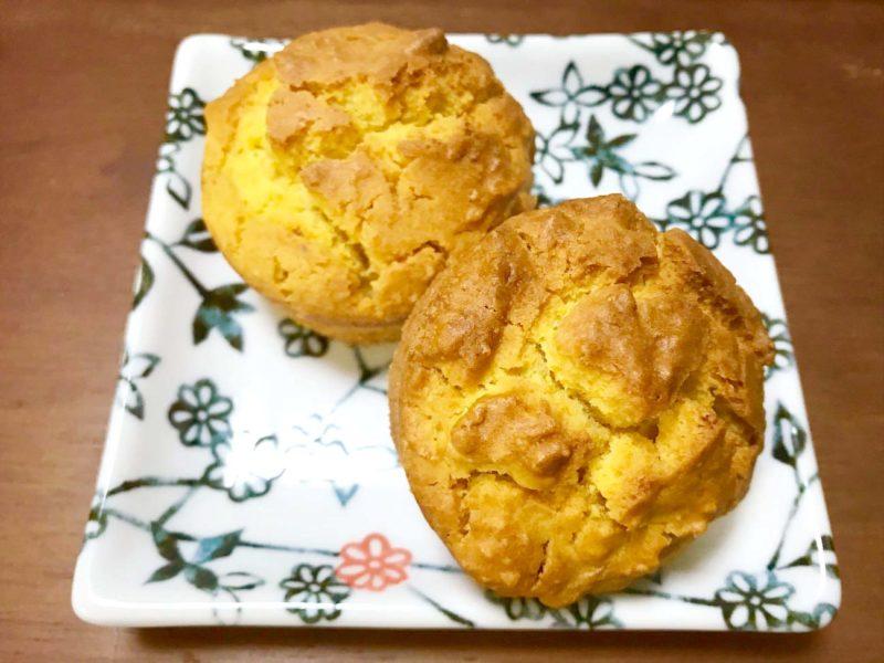 人参とアーモンドのカップケーキ