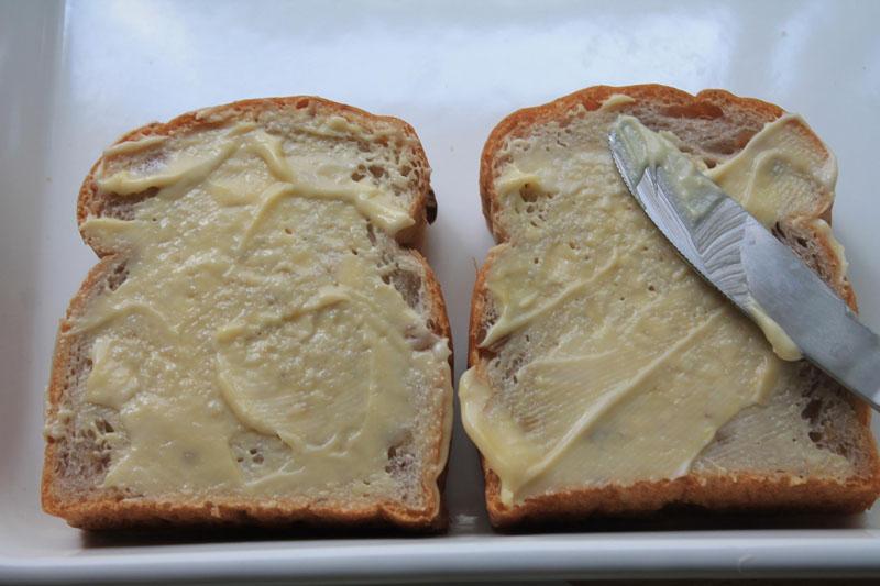 ルッコラとチーズのサンドイッチ③