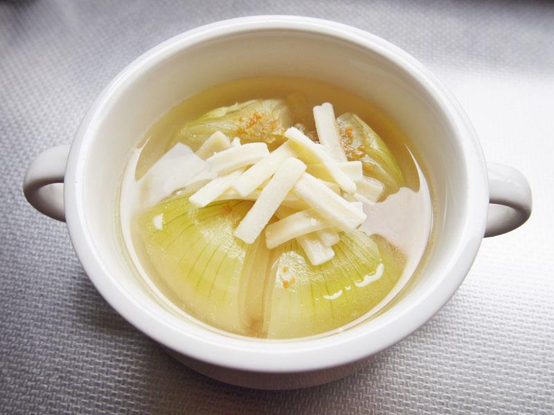 玉ねぎ丸ごとスープ③