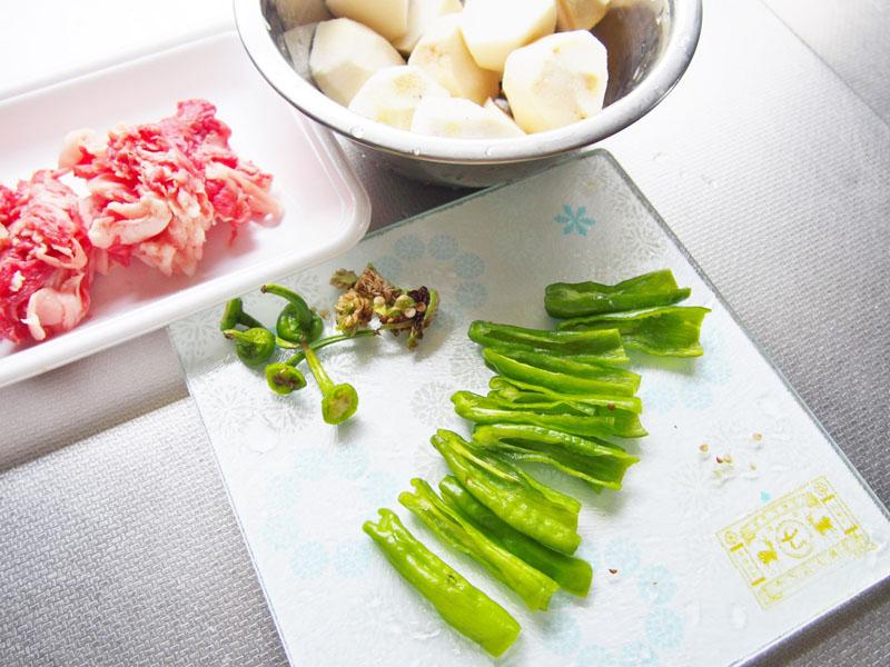 牛肉と里芋の煮っころがし①