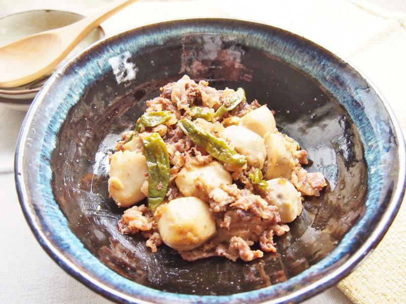 牛肉と里芋の煮っころがし-完成