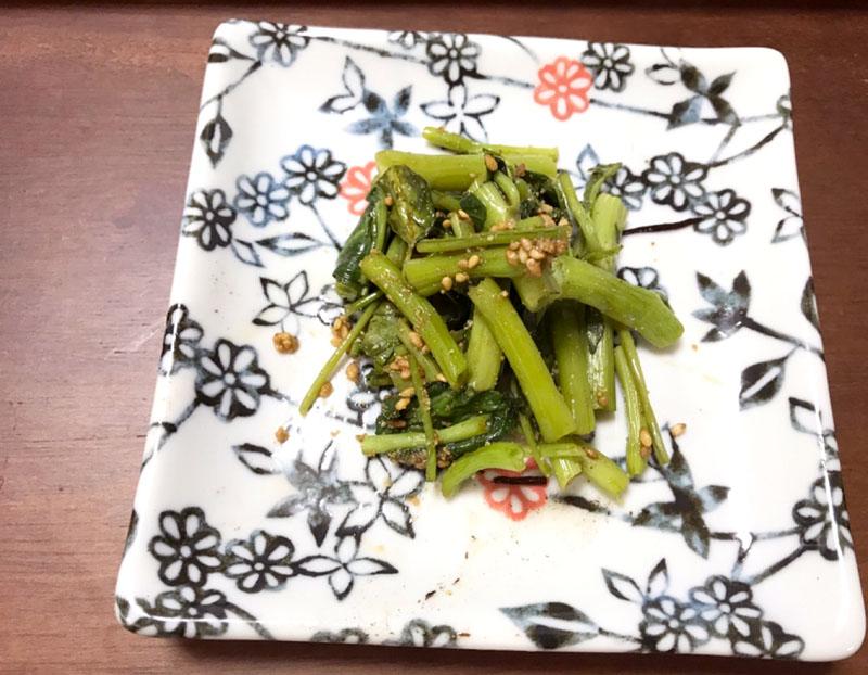 空心菜のナムル